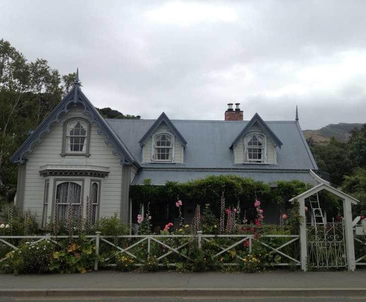 Colonial house in Akaroa NZ
