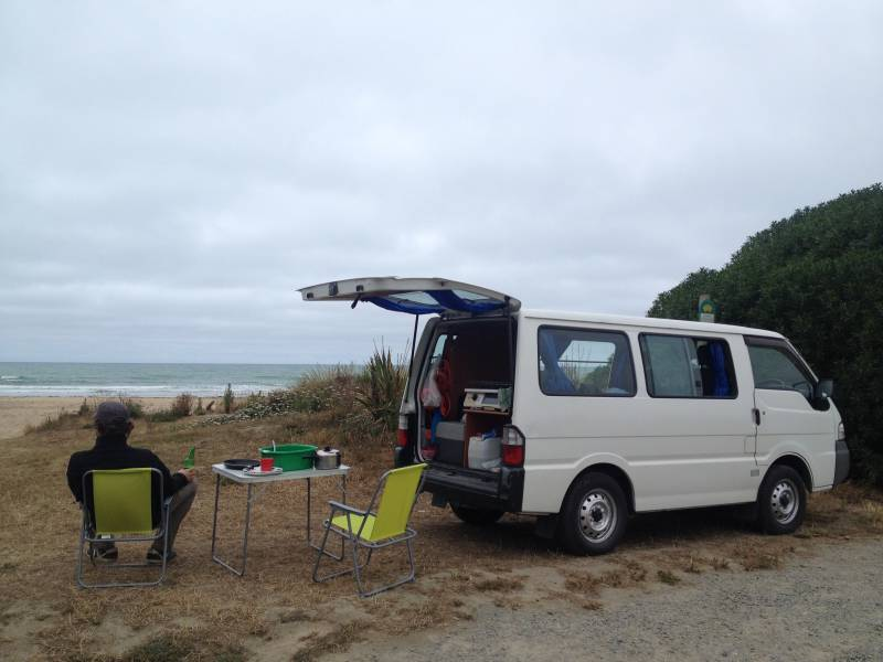 Best camp sites South Island of New Zealand