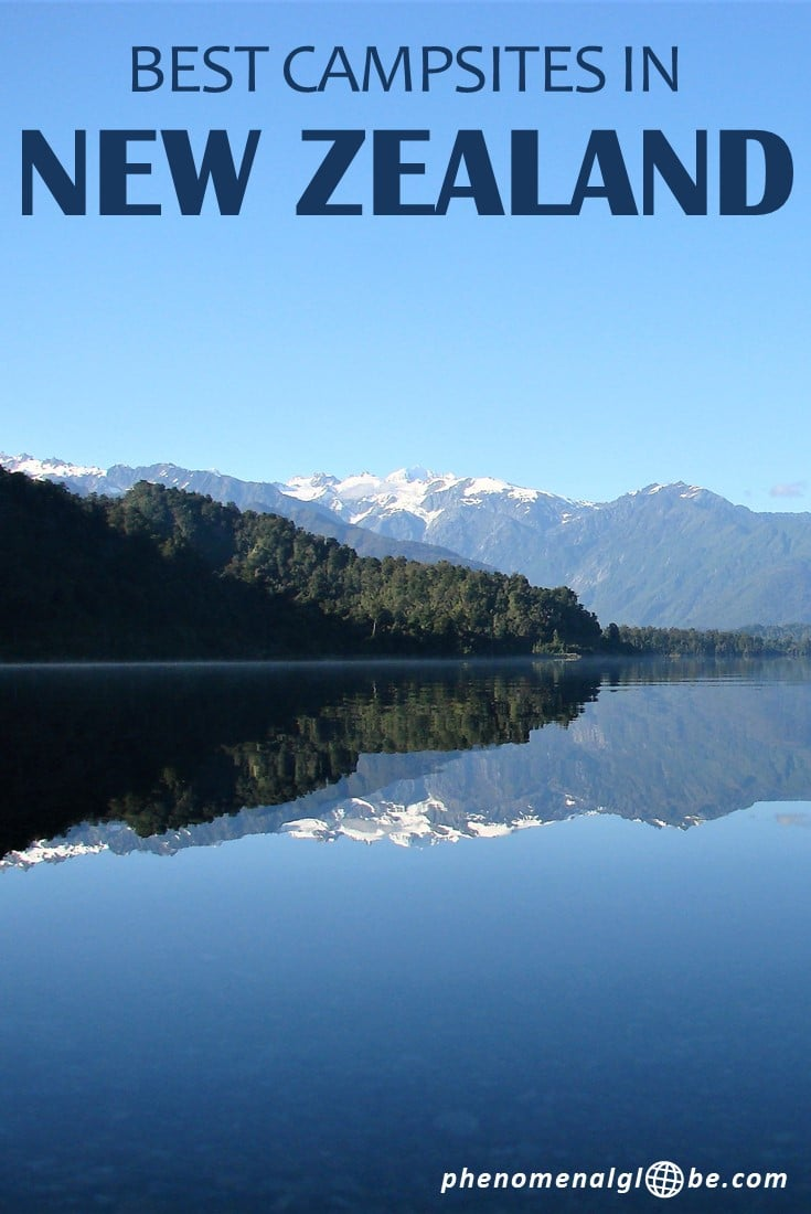 Going on a road trip in New Zealand and looking for campsites? Check out these 38 great sites on the North and South Island. In this New Zealand camping guide you can find the location of 16 free campsites, 9 beautiful DOC (Department of Conservation) camp spots and 13 very affordable holiday parks. #NewZealand #camping #roadtrip