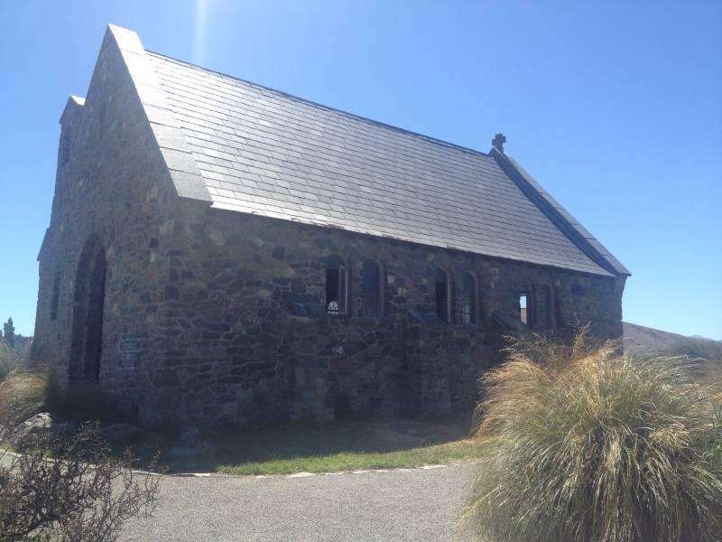 Church of the Good Shepherd in Lake Tekapo NZ