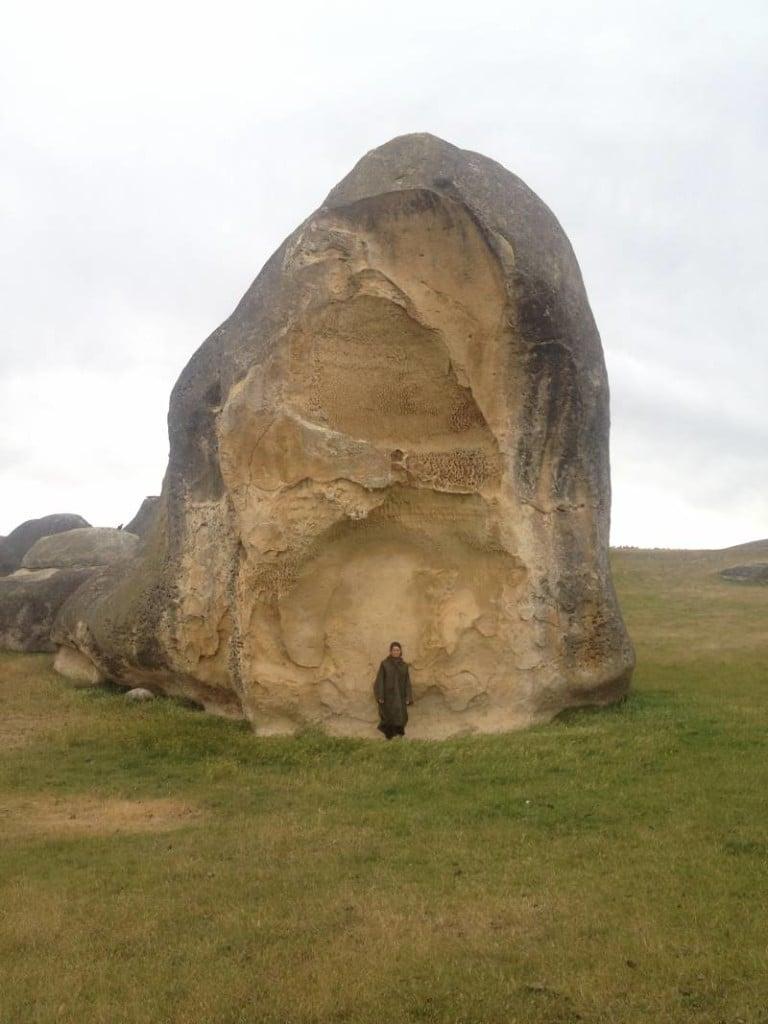 Elephant Rocks in New Zealand
