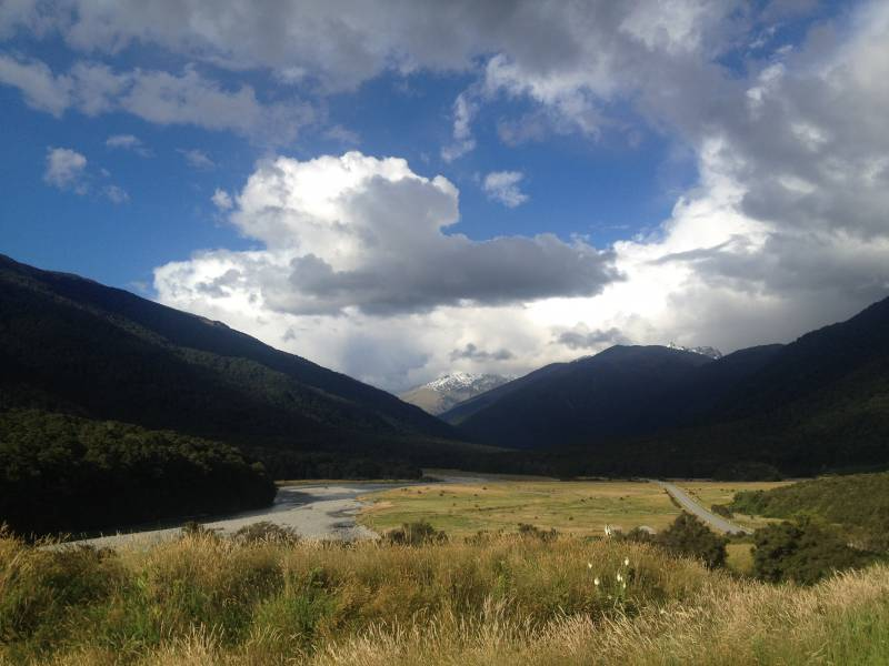 Haast Pass New Zealand