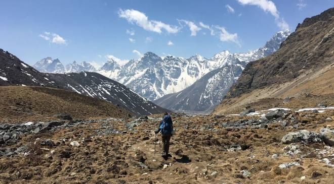 Hiking EBC in Nepal
