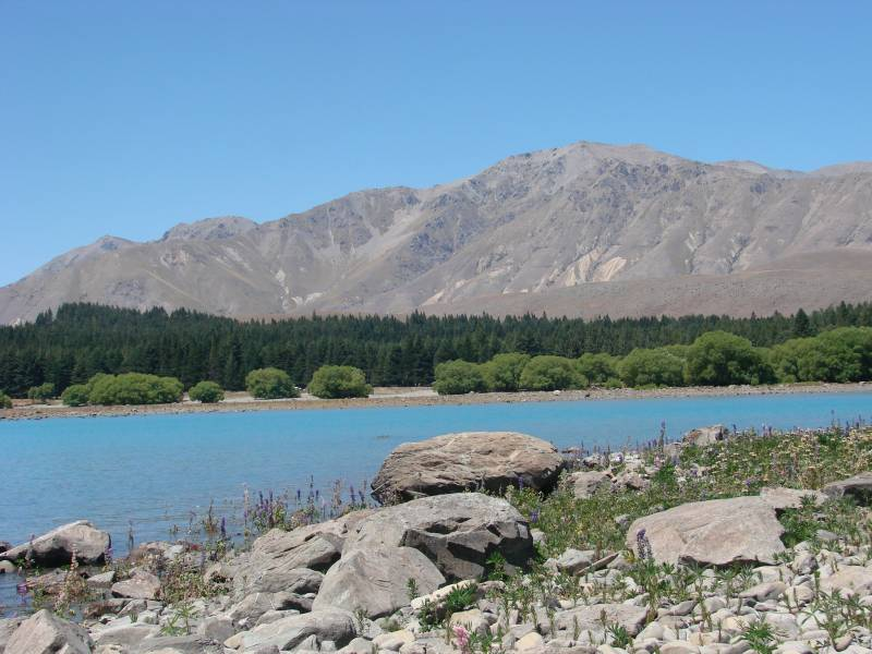 Lake Tekapo - Beautiful lakes in New Zealand