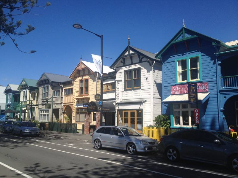 Napier city center