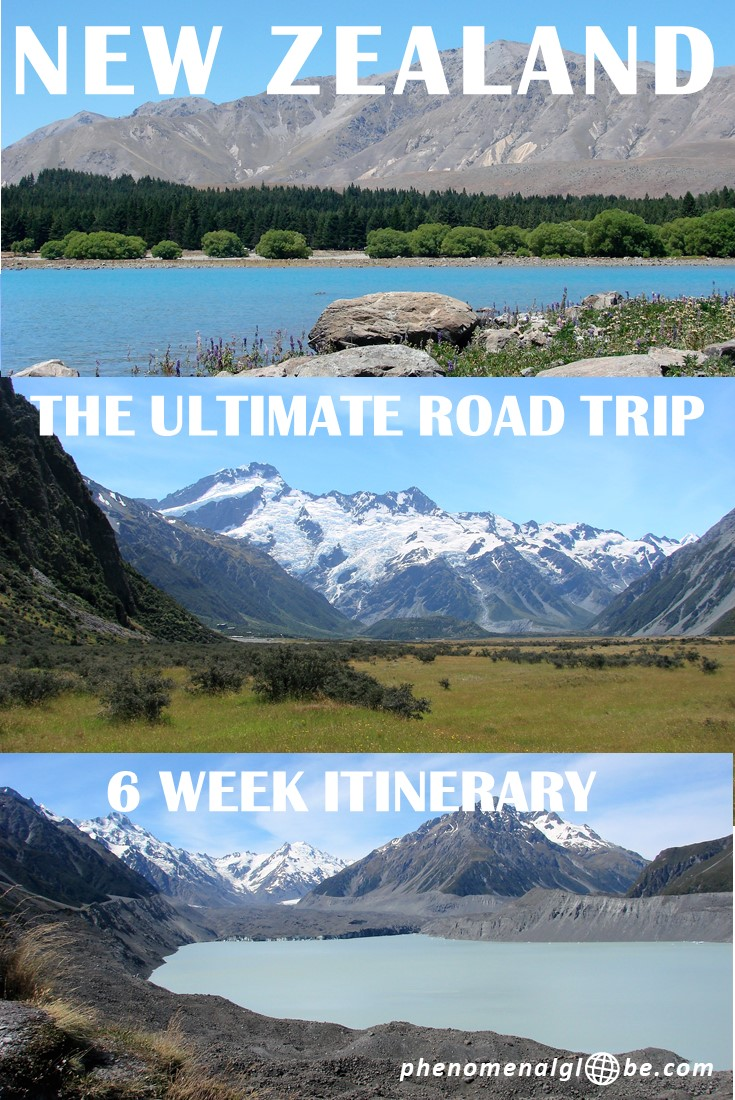 new zealand itinerary a 6 week road trip around the north. Black Bedroom Furniture Sets. Home Design Ideas