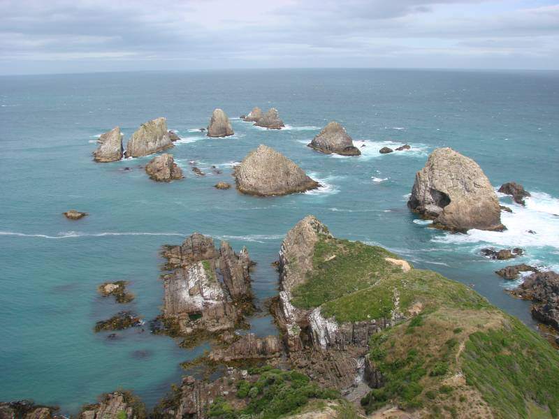 Nugget Point - New Zealand travel budget