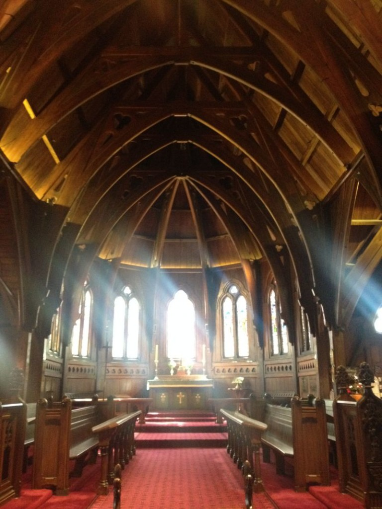 Old Saint Paul's Church in Wellington