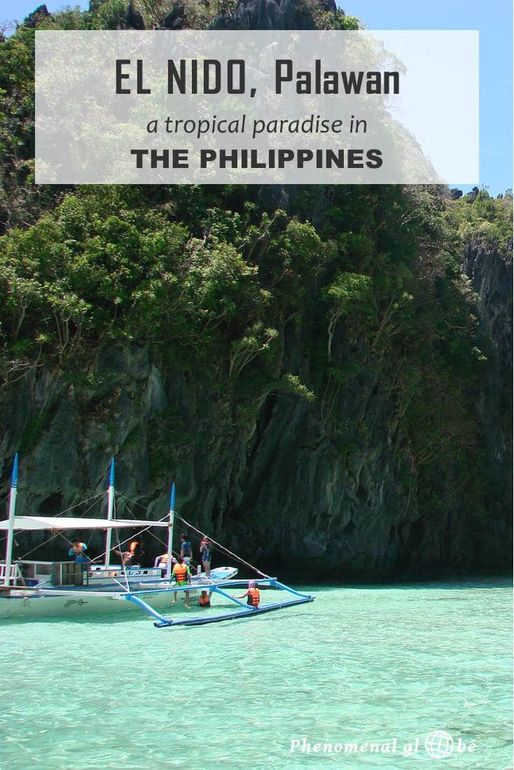 El Nido, Palawan, my ultimate tropical island vision. And it exists for real in the Philippines!