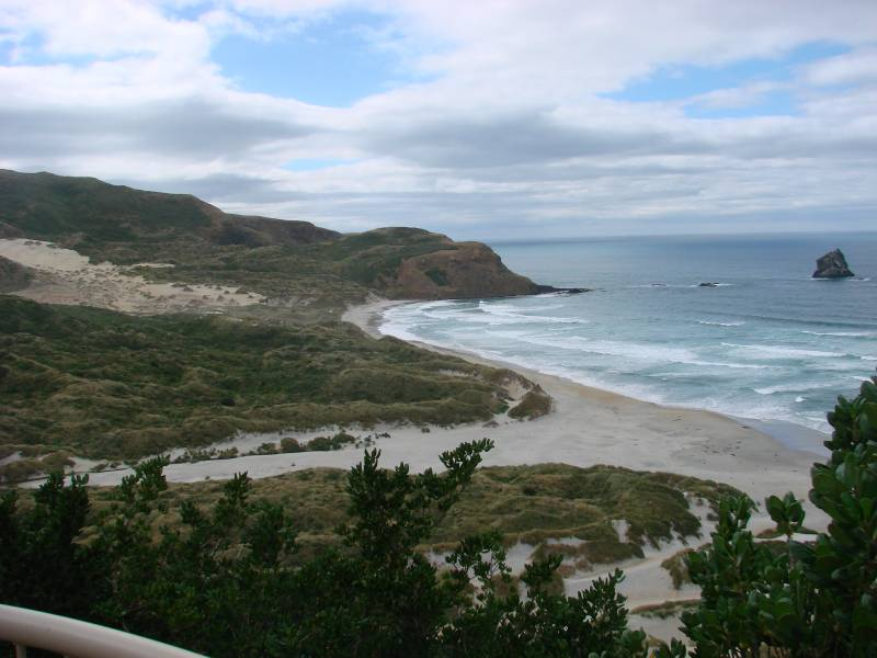 Sandfly Bay hiking trail
