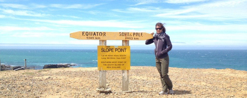 Slope Point Southernmost point of New Zealand