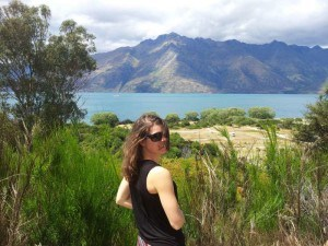 Wonderful Lake Wakatipu on the South Island of New Zealand