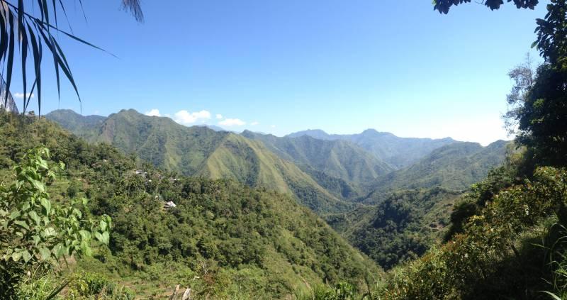 View hiking Banaue