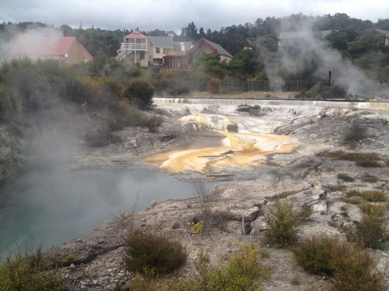 Visit Whakarewarewa thermal village - 10 Awesome Things To Do In New Zealand