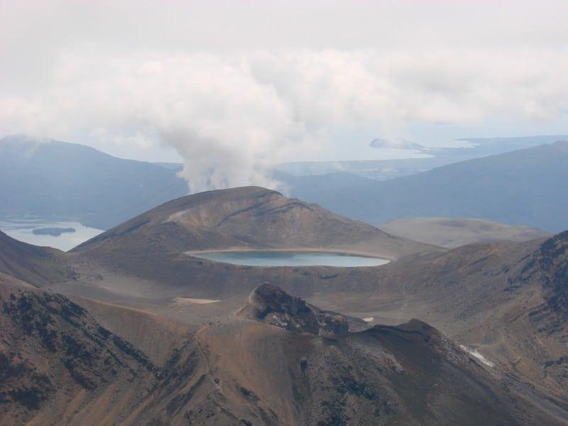 Blue Lake Tongariro Crossing