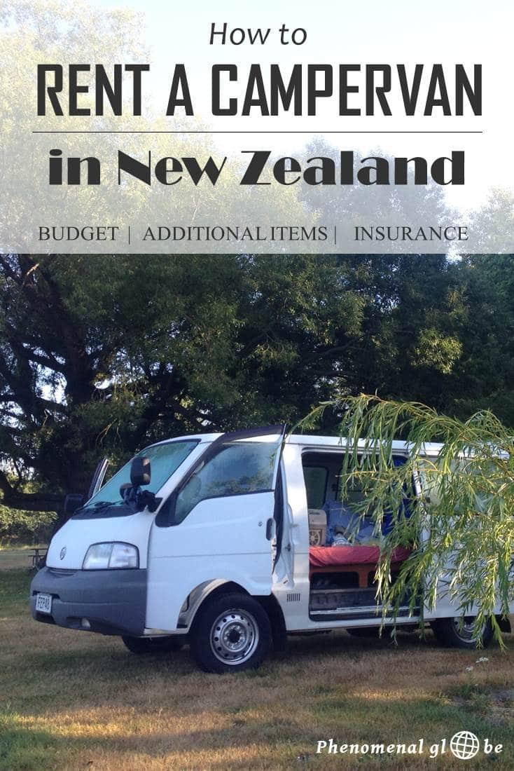 Check the ultimate guide to renting a campervan in New Zealand! Read about costs, necessary additional items and insurance. #NewZealand #Campervan #VanLife
