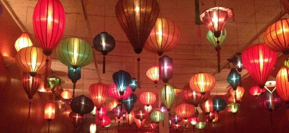 Lanterns in Vietnam