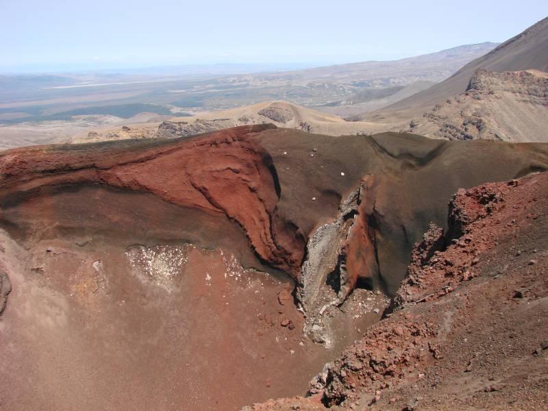 Red Crater Tongariro Alpine Crossing
