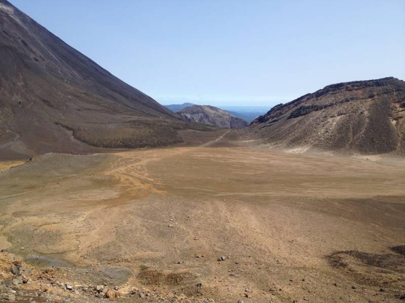 South Crater Tongariro Crossing