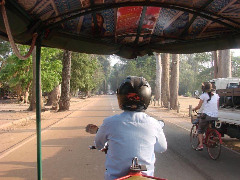 Tuktuk Cambodia Angkor Wat