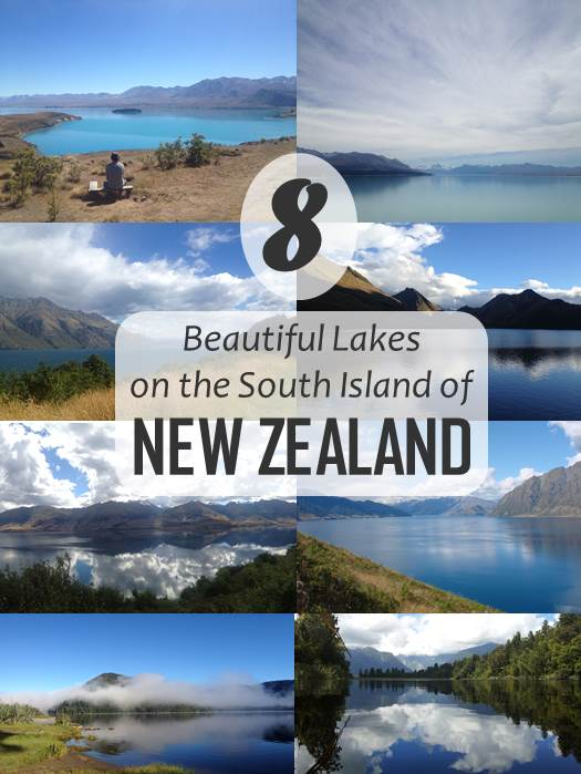 New Zealand, the most beautiful country in the world and the country that stole my heart. Check out these gorgeous lakes (like Lake Tekapo, Moke Lake and Lake Wakatipu) and you'll understand why!