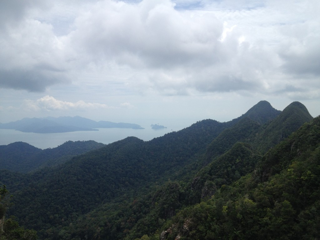 Cable Car Langkawi view