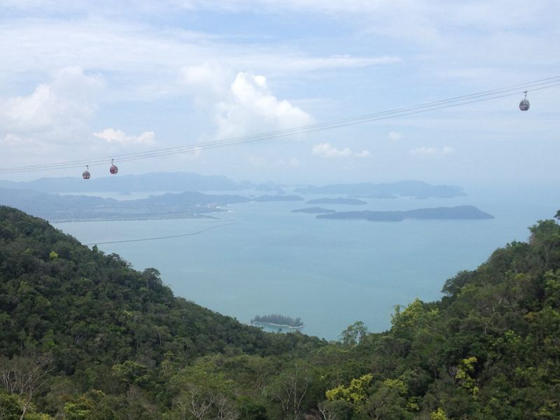 Fun fact: the Langkawi Cable Carhad been added to Malaysia Book of Records for 'The Longest Free Span Mono-Cable'