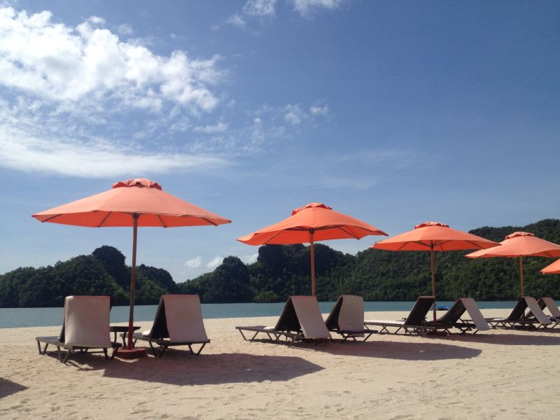Tanjung Rhu Beach on Langkawi