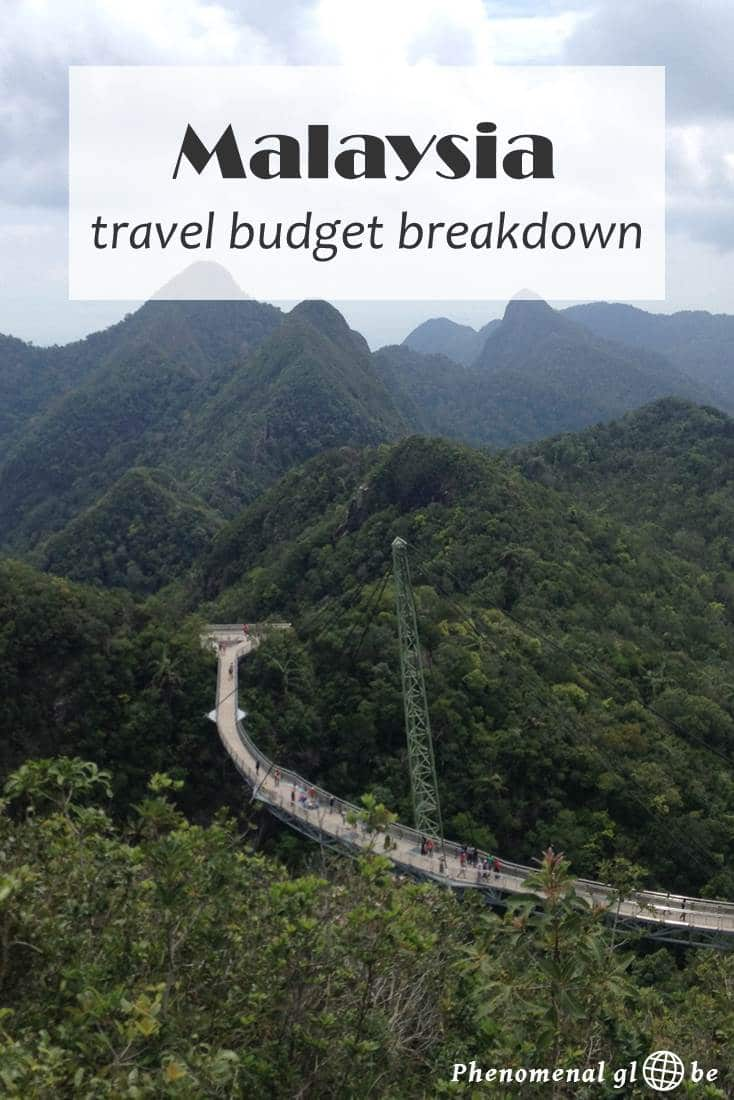 A detailed budget breakdown about the costs of travel in Malaysia (including accommodation, transport, food & drinks and activities). Find out exactly how much a trip around Malaysia costs and download a convenient budget breakdown infographic on Phenomenal Globe Travel Blog.