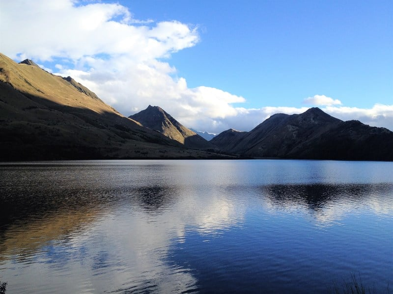 Moke Lake - Stunning lakes in New Zealand