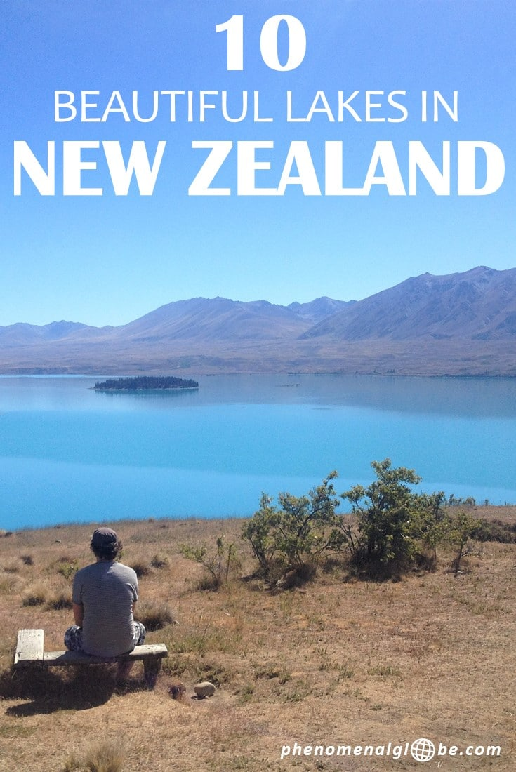 New Zealand is the most beautiful country in the world and has lots of stunning lakes! Check out the most beautiful lakes in New Zealand: Lake Tekapo, Lake Pukaki, Laka Wakatipu, Moke Lake, Lake Wanaka, Lake Hawea, Lake Paringa, Matheson, Lake Mahinãpua and The Emerald Lakes. #NewZealand #southisland #northisland