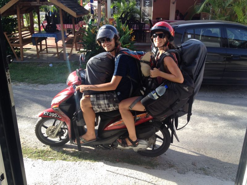 Rent a scooter on Langkawi Island