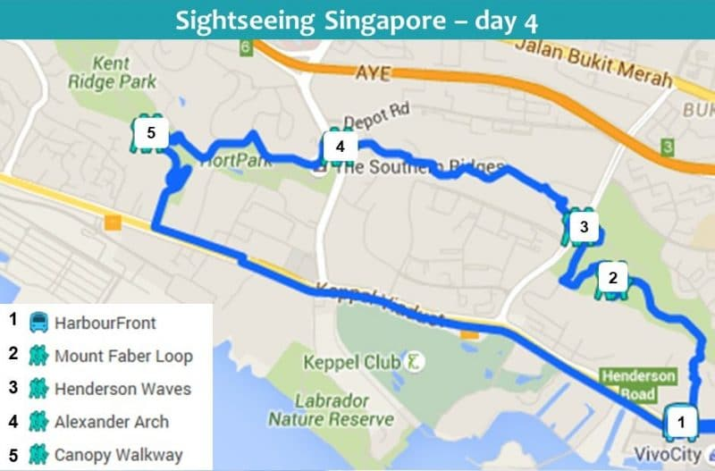 Sightseeing in Singapore 4 day itinerary day 4