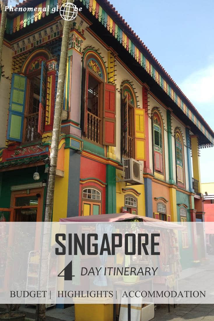 Going to Singapore? Read everything you need to know in one complete and detailed guide including the needed average daily budget and a 4-day itinerary with map and all the sights!