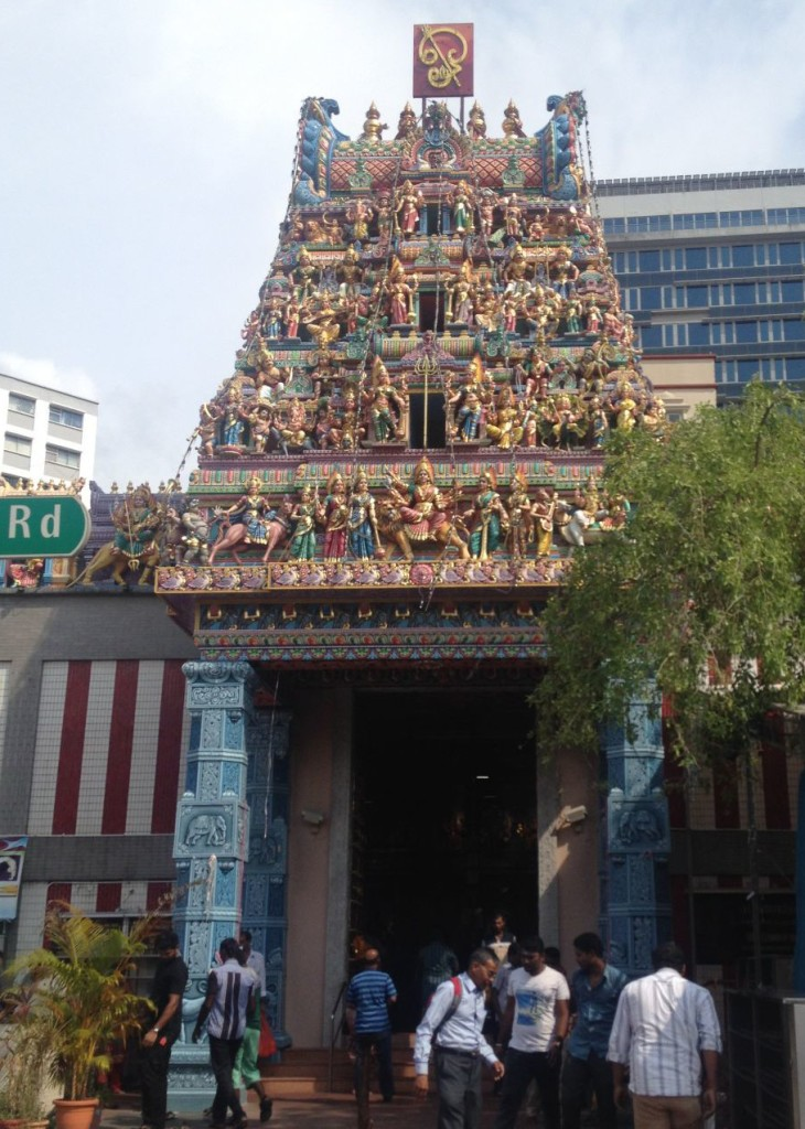 Sri Veeramakaliamman Temple in Little India Singapore