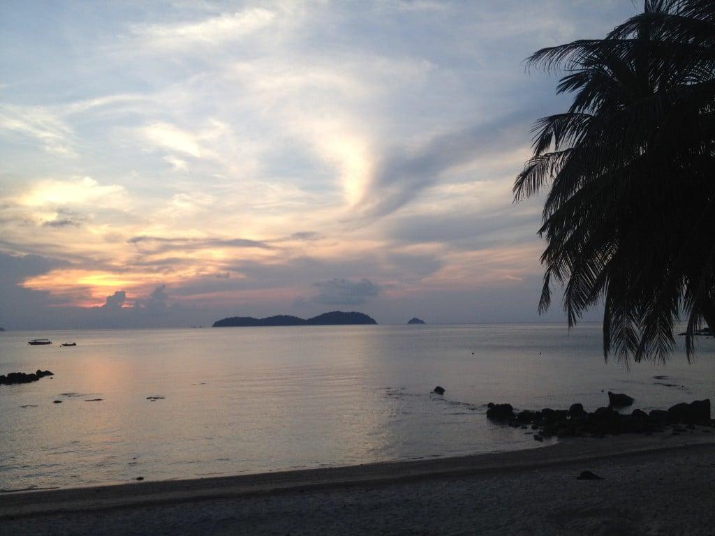 Sunset on Tioman Island