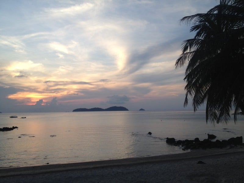 Sunset on Tioman Island
