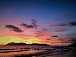 Watch a beautiful sunset on Pulau Langkawi Malaysia