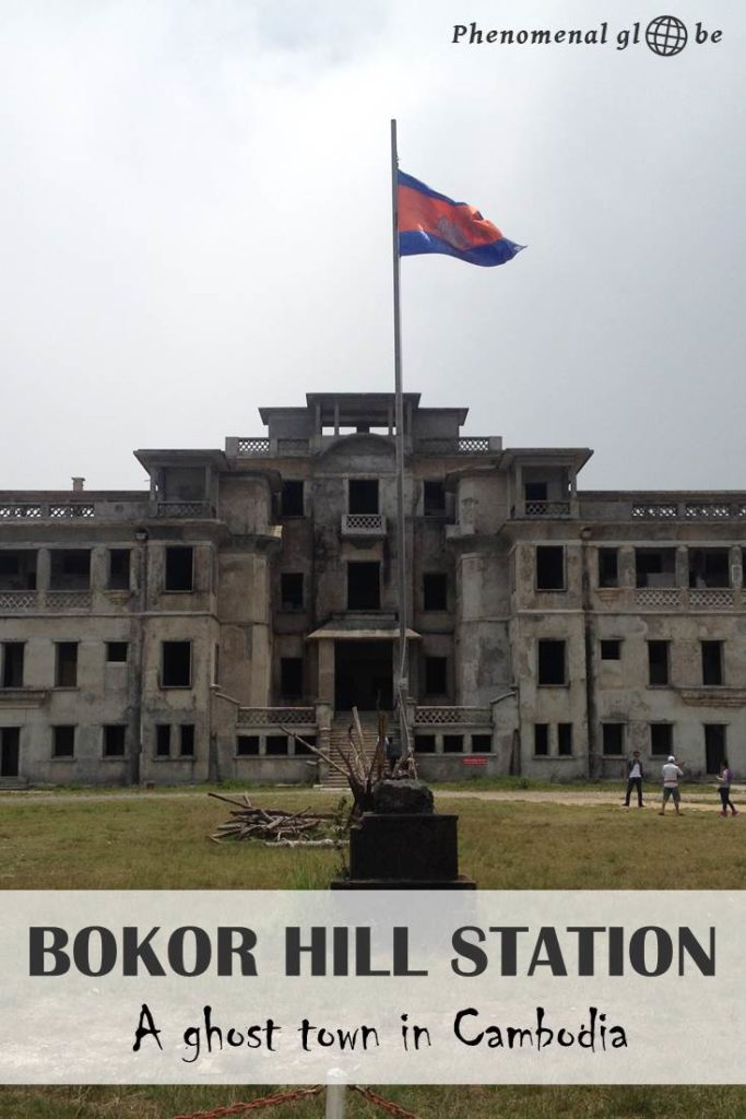 Bokor Hill Station is a small French ghost town & casino lying on a 1000 meter high mountain, a completely abandoned complex surrounded by clouds & mystery. #Cambodia #Kampot #BokorHillStation