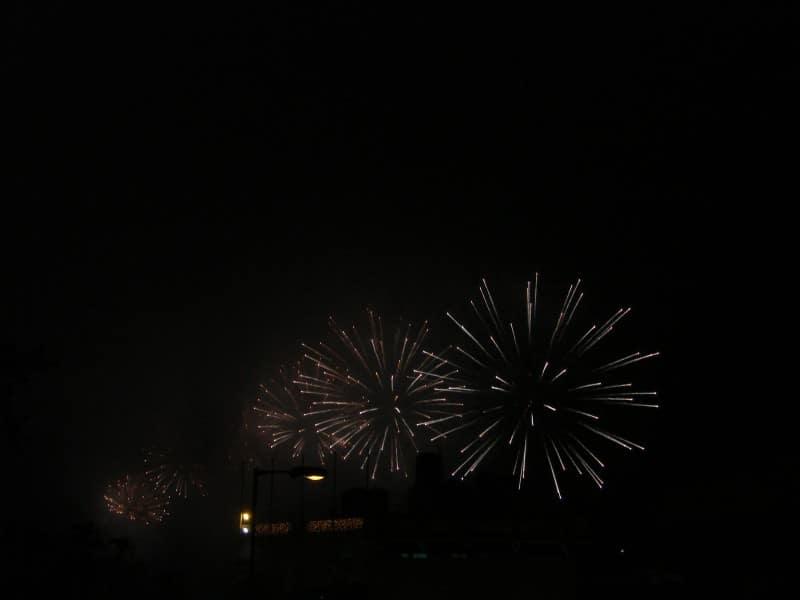 Hong Kong fireworks Lunar New Year
