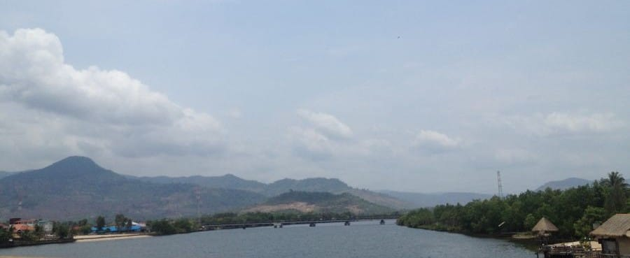 Bridge in Kampot Cambodia