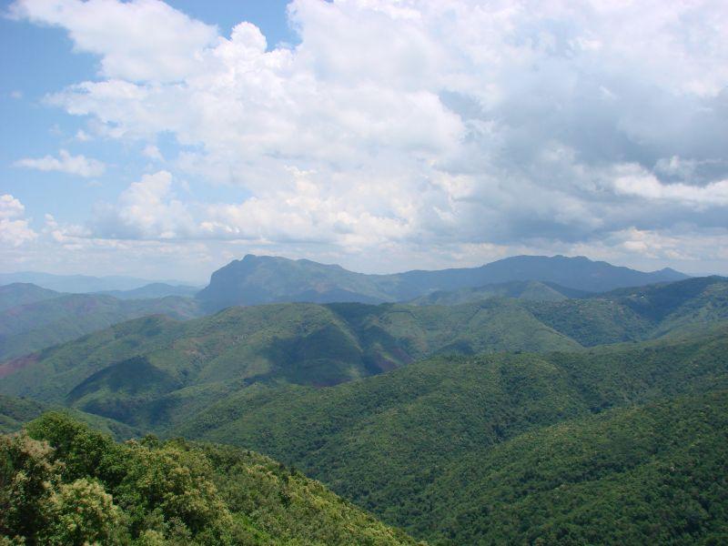 Laos mountaints Luang Prabang