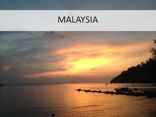 Malaysia -  Phenomenal Globe Travel Blog