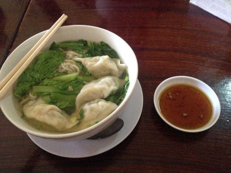 Noodle soup Cambodia