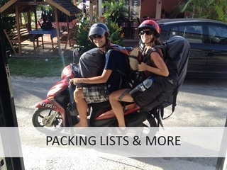 Packing lists on Phenomenal Globe Travel Blog