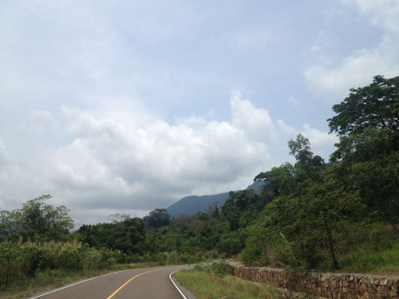 Road to Bokor Cambodia
