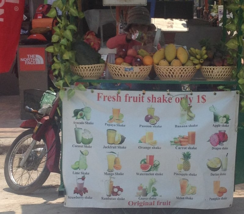 Smoothies Cambodia