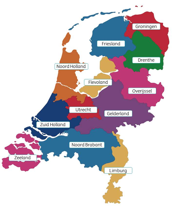 An Introduction To The Netherlands - The 12 provinces of the Netherlands!