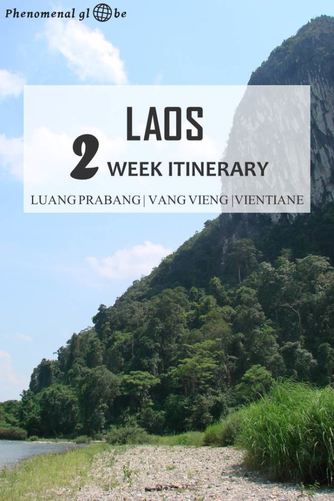 Planning a trip to Laos? This 2-week itinerary for Luang Prabang, Vang Vieng and Vientiane will help you plan an unforgettable trip! Including the best things to do in Laos, information how to get from A to B and downloadable pfd with map. #Laos #LuangPrabang #SEAsia