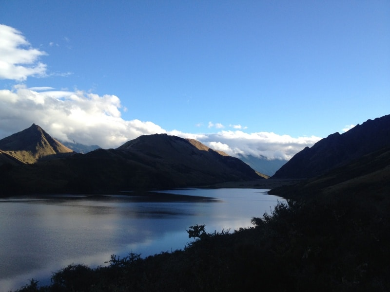 Hike around Moke Lake New Zealand